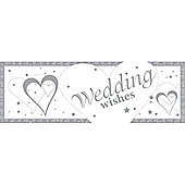 Loving Hearts Wedding Giant Banner (each)