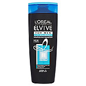 L'Oreal Paris Elvive Men Anti-Dandruff Shampoo 400ml Normal to Greasy Hair