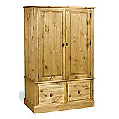 Home Essence Warwick 2 Drawer Wide Wardrobe
