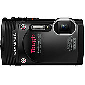 Olympus TG-850 Tough Camera Black 16MP 5xZoom 3.0LCD FHD Wtprf 10M