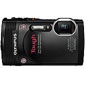 Olympus TG-850 Tough Camera Black 16MP 5xZoom 3.0LCD FHD Wtprf 10M
