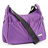 Baby Elegance Tote Changing Bag - Purple