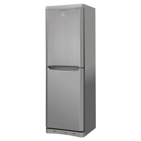 Indesit BIAA134X Fridge Freezer, Stainless Steel