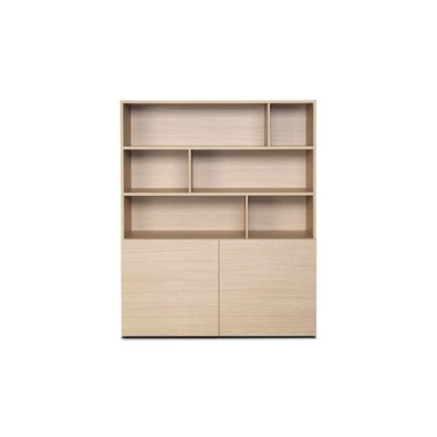Didit Half-Open Cabinet - Essential Oak Light
