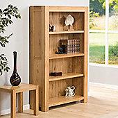 Chepstow Oak Four Shelf Bookcase