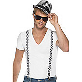 Fancy Dress Male Ska Kit - Hat and Braces (each)