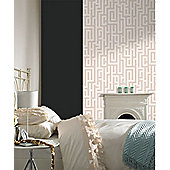 Graham & Brown Oyster Illusion Wallpaper
