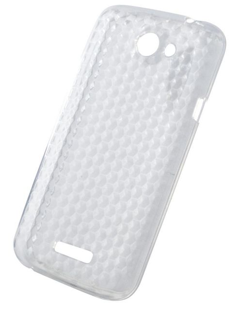 Tortoise™ Soft Gel Case HTC One X Honeycomb Clear