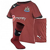 2012-13 Newcastle Away Little Boys Mini Kit - Red