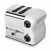 Rowlett Rutland Esprit 2 Slice Wide Bread Toaster with Bun Mode - White