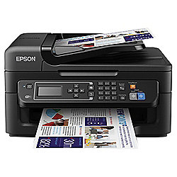Epson WF2630, Wireless All in One Inkjet Colour Printer, A4 - Black