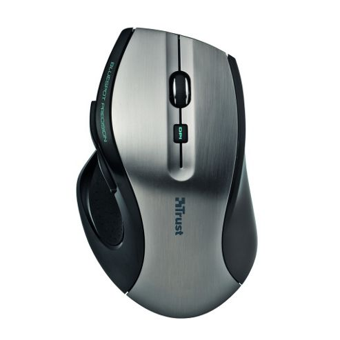Trust MaxTrack Mouse - Wireless - 6 Button(s) - Radio Frequency - USB - 1000 dpi - Scroll Wheel