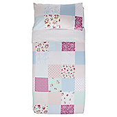 Tesco Kids Bright Patch Duvet Set Single
