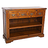 Aspect Design by Wayfair East Indies Open Bookcase with Drawers