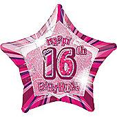 16th 20' Star Foil Balloon (each)