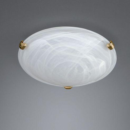 Massive Zara One Light Flush Ceiling Light