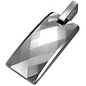 Urban Male Modern Design Faceted Tungsten Pendant