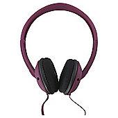 Skullcandy Overhead Headphones Uprock Maroon