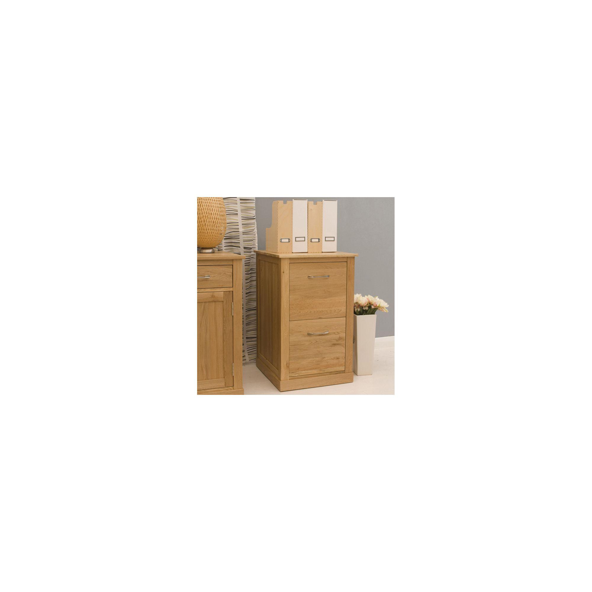 Baumhaus Mobel Oak 2 Drawer Filing Cabinet at Tescos Direct