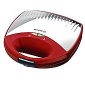 Breville VST038 Gloss Red & Stainless Steel 2 Sandwich Toaster