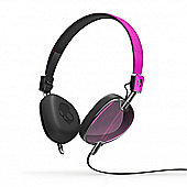 Navigator On-Ear Headphones with Mic Hot Pink/Black/Black