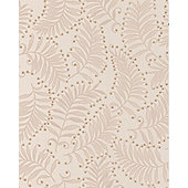 Graham & Brown Premier SW Fern Wallpaper - Cream