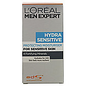 L'Oreal Men 50ML Hydra Sensitive Hydrating Cream