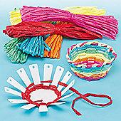 Basket Weaving Craft Kits (Pack of 4)