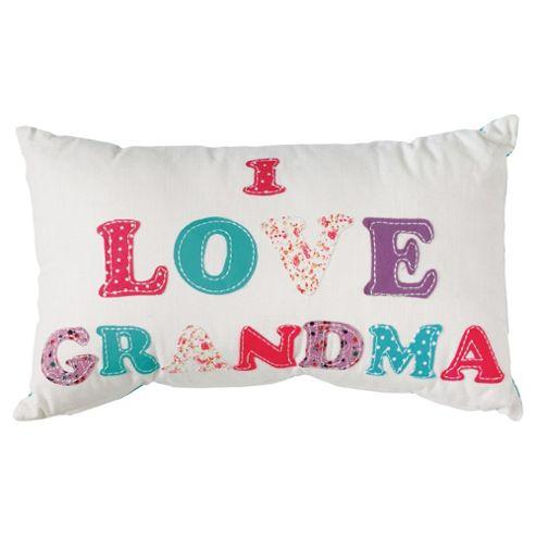 Tesco I love grandma cushion