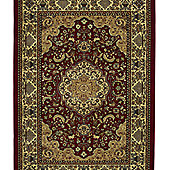 Oriental Carpets & Rugs Heritage 02A Red Rug - 80cm x 140cm