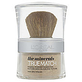 L'Oréal True Match Minerals Foundation W3 10g