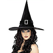 Spell Caster Hat With Diamante Buckle