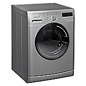 Whirlpool WWCR9230S Washing Machine, 9kg Wash Load, 1200 RPM Spin, A++ Energy Rating, Silver