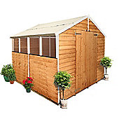 BillyOh 400 8 x 8 Overlap Apex Garden Shed