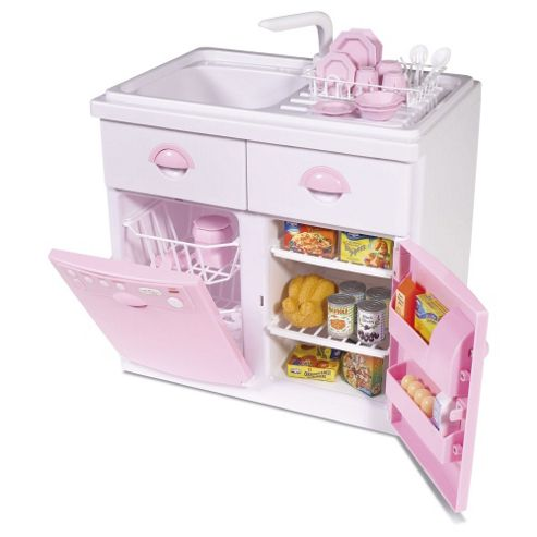Casdon Electric Sink Unit Pink