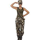 Khaki Camo - Adult Costume Size: 12-14