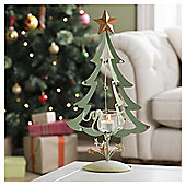 Gisela Graham Metal Christmas Tree Night Light