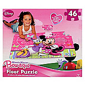 Disney Minnie Mouse Bow-Tique Floor Puzzle