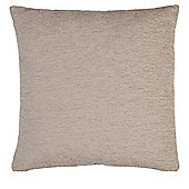 Tesco Chenille Taupe Cushion
