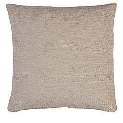 Taupe Chenille Cushion