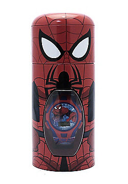 Children's Marvel Spiderman Digital Watch In Gift Tin