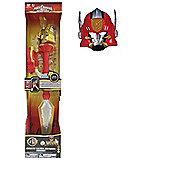 Power Ranger Bundle - Super Megaforce Deluxe Ultra Dragon Sword And Megaforce Gosei Great Megazord Mask - 2 Items Supplied