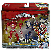 Power Rangers Mixx N Morph Mighty Morphin Red Ranger & Ape Zord