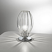 Siru Retro One Light Table Lamp - Crystal Smooth - 50cm