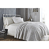 Bianca Printed Cotton Soft Neutral Bedspread