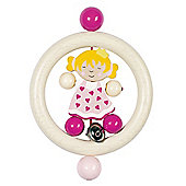 Heimess 734330 Wooden Ring Rattle (Princess)