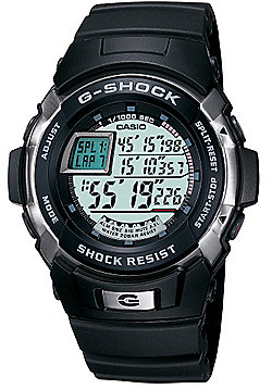 Casio G-Shock Mens Rubber Chronograph Watch G-7700-1ER