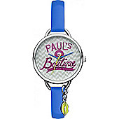Paul's Boutique Tasha Ladies Plastic Charms Watch PA030BLSL
