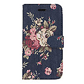 "Tortoiseâ""¢ Folio Case with Inside pocket, iPhone 6.Fabric Flower design, Multi."