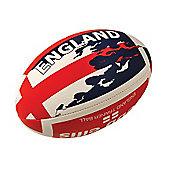 Webb Ellis England Flag ball size 3